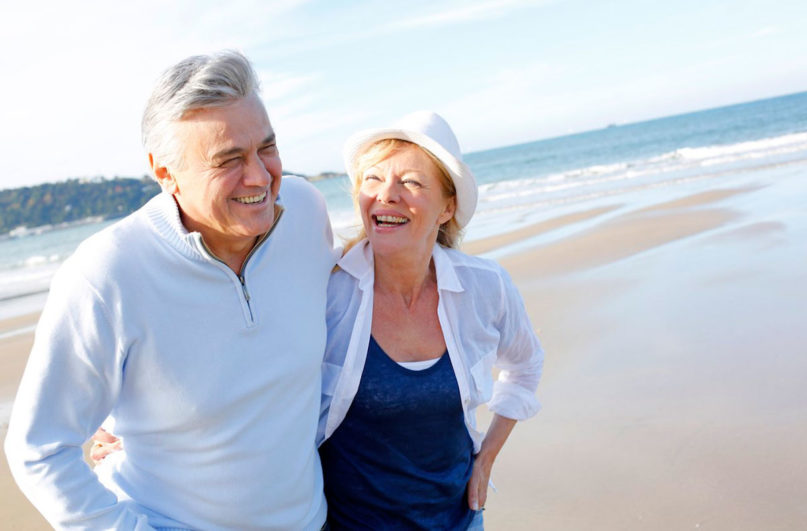 Is Sermorelin Worth It Older Couple at the Sea Coast