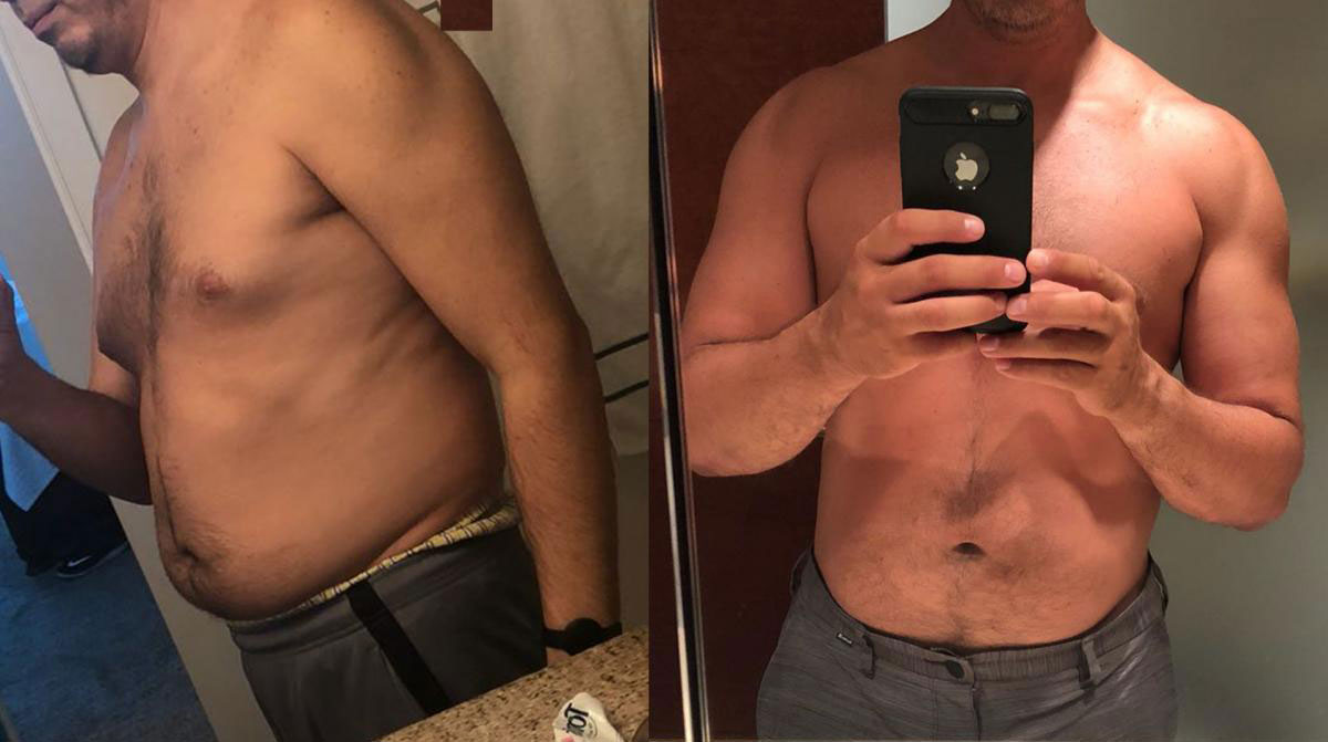 Sermorelin Acetate Before and After Pictures Men